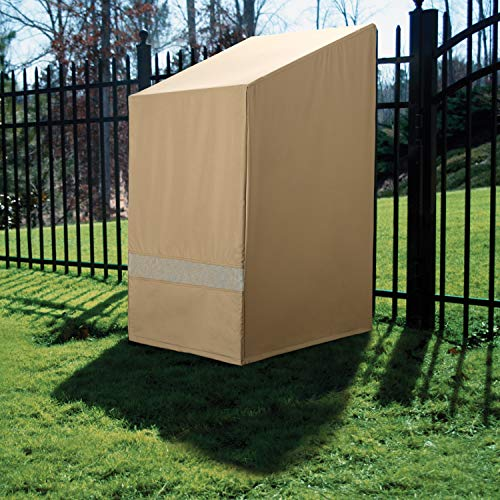 SURE FIT Surefit Patio Armor Chair Cover (76'x28'x30', Weather and Rip Resistant)