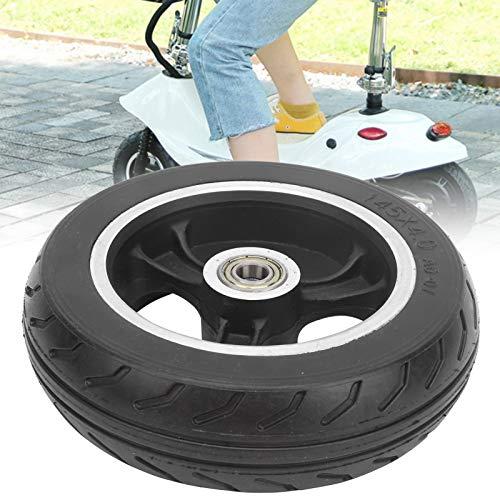 minifinker Neumático sólido, neumático a Prueba de explosiones de 6 Pulgadas para patinetes eléctricos para carritos y patinetes para niños