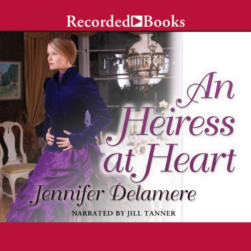 An Heiress at Heart audiobook cover art