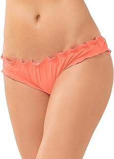 Smart & Sexy Women's Swim Secret Ruffled and Ruched Back Bikini Bottom
