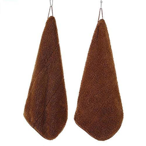 Aerlan Serviette Double 25 * 30 Crochet 400g / MSL Tissu Super Absorbant-Brown_10