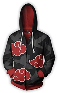 Naruto Sweater/Naruto Jacket Hooded School Uniform/Cosplay Naruto Casual Hoodie - 3D Pullover Apparel