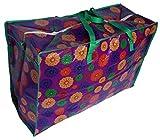 2(dos) X muy grandes almacenamiento lavandera Moving nios juguetes guardera tico cremallera bolsa enorme grande colorido