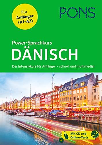 PONS Power-Sprachkurs Dänisch: Der Intensivkurs für Anfänger – schnell und multimedial