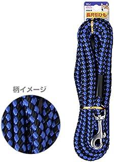 DISUKI(ダイスキ) ペットプラス リード 全長3m 中型犬用 青黒