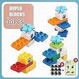 XHING Bausteine, Kinder DIY pädagogisches Spielzeug-Spiel Big Size Blocks Spielzeug Groß Hollow...