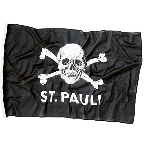 upsolut merchandising FC St. Pauli Hissfahne Totenkopf