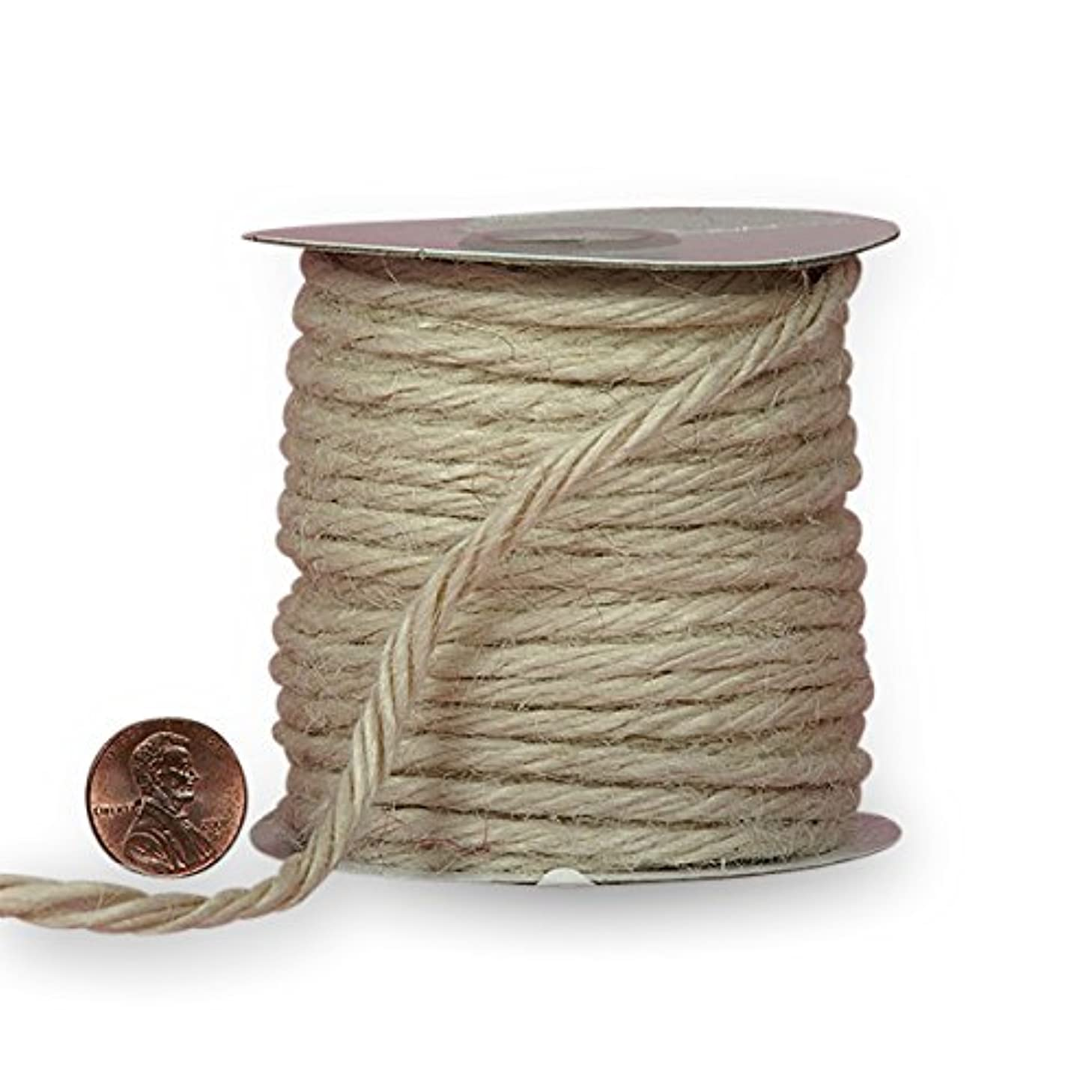 3.5mm X 25 Yards White Jute Cord