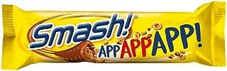 4 Boxes X 34g of Nidar Smash bar -4.79 oz Original - Norwegian - Snacks - Milk Chocolate - Candies - Sweets - Bag 100g