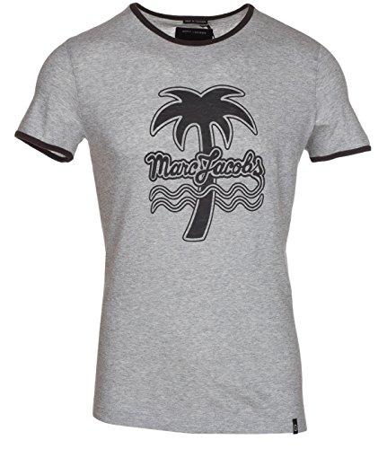 Marc Jacobs Herren T-Shirt Logo - grau - X-Groß