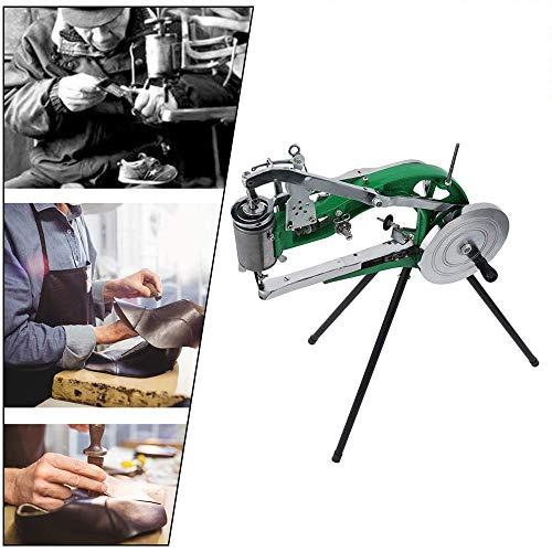 S SMAUTOP Máquina de reparación de calzado Zapatero Máquina de coser a mano que hace coser algodón/cuero/nylon Costura equipar Zapatero