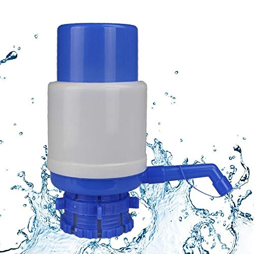 QHTY 5 Gallon Water Pump, Portable Manual Hand Pressure Drinking Water Pump Press Water Dispenser Pump
