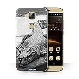 Stuff4 Phone Case for Huawei G7 Plus Mono Zoo Animals