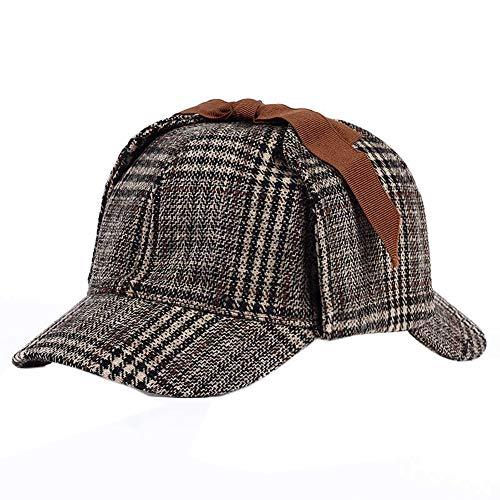 Sherlock Holmes Detective Sombrero Cosplay Accesorios Boinas Hombres Mujeres Dos Brims Boina Sombrero De Cazador