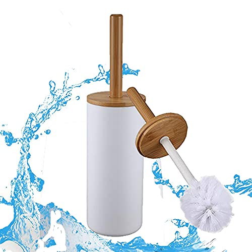 Kamenda Escobillas y Portaescobillas de Inodoro, Escobilla con Portaescobillas Escobillas WC para la Limpieza