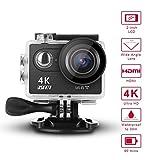 iSeeYou Action Kamera 4K Sport Cam Wifi 16MP 2.0 '' LCD Bildschirm 170 ° Ultra Weitwinkel-Objektiv...