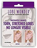 Lobe Wonder Invisible Earring Earlobe Support Patches (pack of 2)