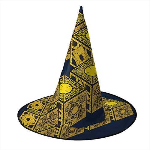 OJIPASD Forever Hellraiser Hexenhut Halloween Unisex Kostüm für Urlaub Halloween Weihnachten Karneval Party