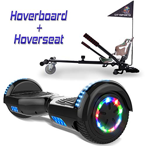 COLORWAY Overboard Hover Scooter Board Gyropode Bluetooth SUV 6.5...