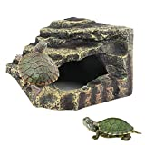 kathson Turtles Basking Platform Reptile Hiding...
