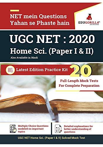 UGC NET Home Science: 2020 | 20 Full-length Mock Test (Paper I & II) (Hindi Edition)