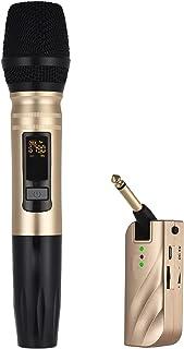 Karaoke Microphone, لاسلكي UHF. ميكروفون يده كاريوكي ميكروفون مع المحمولة USB مستقبل مكثف ميكروفون ل KTV دي جي مكبر الصوت ...