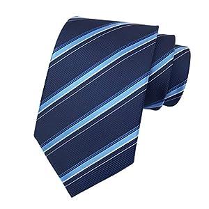 MENDENG ネクタイ 紺 青 ストライプ ネイビー ブルー シルク フォーマル 結婚式 ウォッシャブル ビジネス ブランド プレゼント メンズ おしゃれ 柄 洗濯 成人式