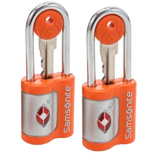 Samsonite Luggage Lock Travel Accessories US Air Tr. Key Lock, Set of 2,...