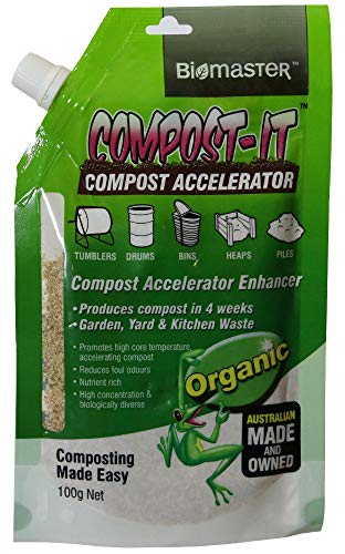 For Sale! Compost-It Compost Accelerator/Starter 100g Spout Pack for All Composting Systems, (100% N...