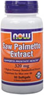 Saw Palmetto 320mg 90 Softgels (Pack of 2)