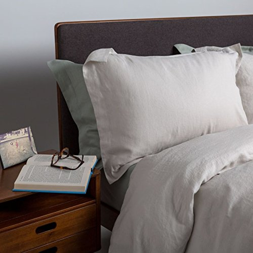 100% Pure French Linen - Natural - Duvet Cover - Single