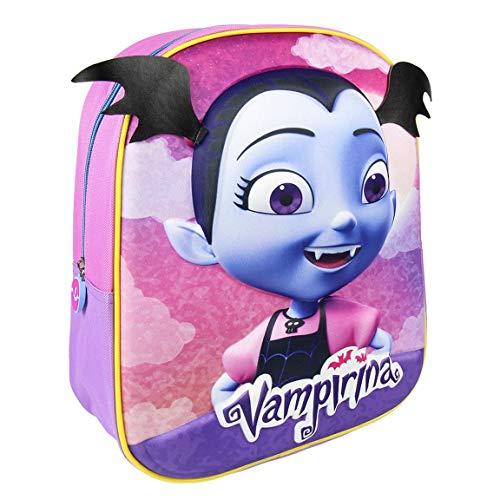 Cerdá 3D Vampirina  Mochila Infantil  31 cm  8.06 liters  Violeta