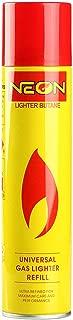 Neon Lighter Gas Refill Butane Universal Fluid Fuel Ultra Refined 300ml 10.14 Oz