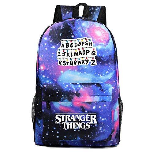 Stranger Things Mochila Escolar Niños Galaxia Estudiante