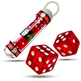 Magic Makers Inc Magic Dice Red Crystal Acrylic - Roll A 7 Or 11 Every Time
