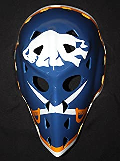 tripple_777 1:1 Custom Vintage Fiberglass Roller Ice Hockey Goalie Mask Keeper Helmet Buffalo Gerry Desjard HO30