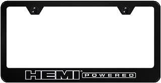 Chik yx Hemi Powered Black License Plate Frame