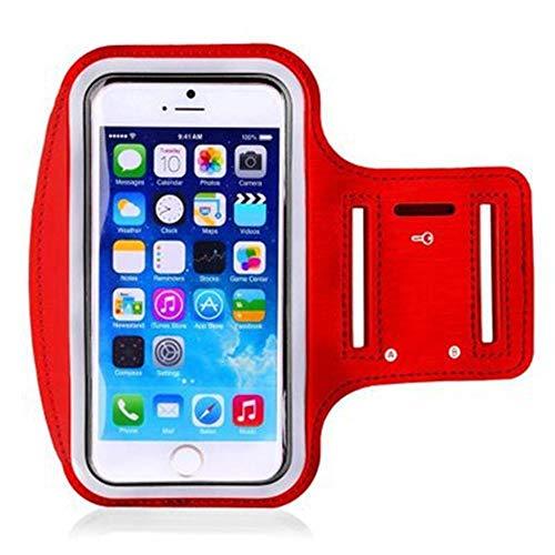 Zyangg-Home Sports de Plein air Sac Bras Courir Sports Téléphone Mobile Bras Sac Fitness Bras Téléphone Sac de Rangement (Color : Red, Size : 4.7 inch)