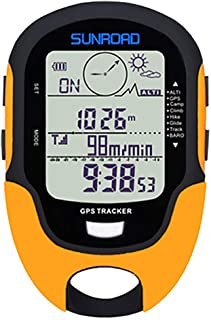 $38 » Sponsored Ad - SUNROAD GPS Tracker Barometer Altimeter Compass Weather Forecast Thermometer Barometric Pressure Tester GPS...