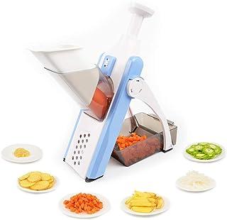 Wondsea Mandoline Coupe-légumes, hachoir à légumes, hachoir à oignons, hachoir à légumes, hachoir à légumes, hachoir à oig...