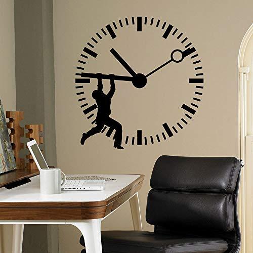 Stop Time Aufkleber Uhr Wandaufkleber Home Interior Schlafzimmer Dekoration Business Office Wandaufkleber Wandbild A2 57x59cm