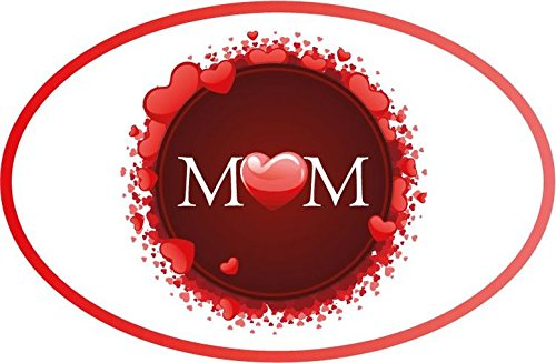 Happy Mothers Day Love Woman Flower Vinyl Decal Bumper Sticker/Pegatina