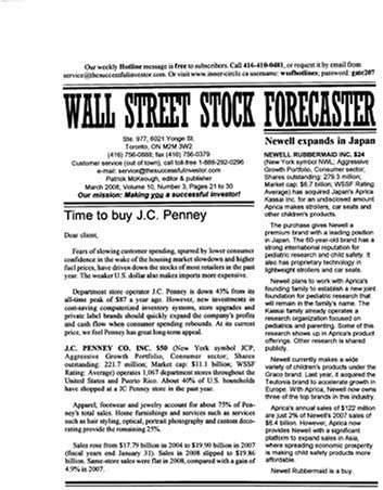 Wall Street Stock Forecaster product image