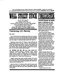 Wall Street Stock Forecaster