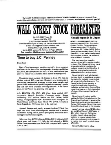 Wall Street Stock Forecaster