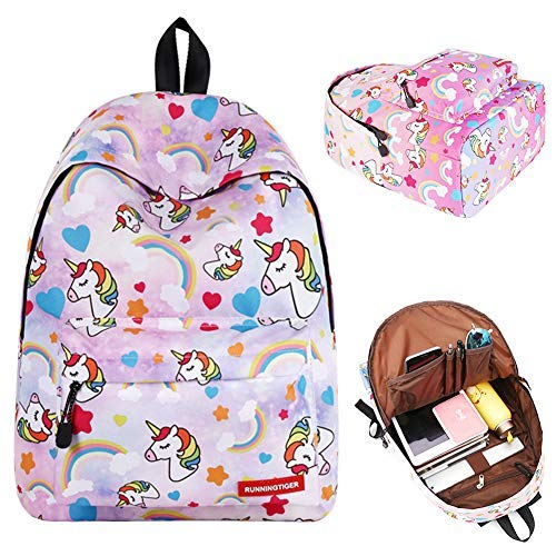 BJHAP Unicorn Backpack Lightweight Bookbag
