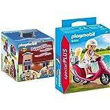 Playmobil 5167 - Mein Neues Mitnehm-Puppenhaus &  9084 - Strand-Girl mit Roller