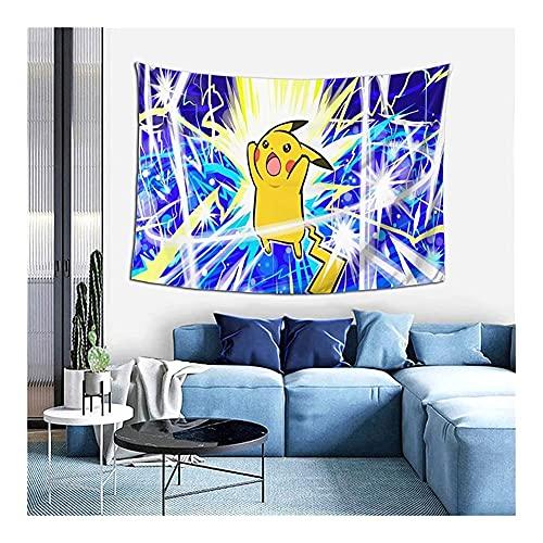 YWJFASHION Pokemon Art Tapices de Pared para Colgar en la Pared, para Dormitorio, Sala de Estar y decoración para Dormitorio, póster