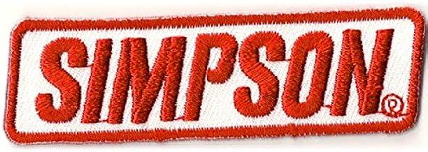 シンプソン ロゴ 刺繍 ワッペン SIMPSON パッチ