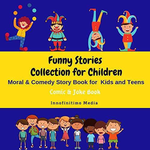 Funny Stories Collection for Children audiobook cover art